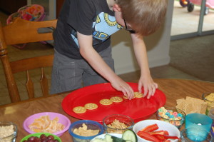 Create a Snack Wheels