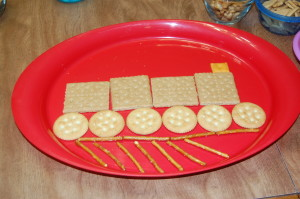 Create a Snack Train